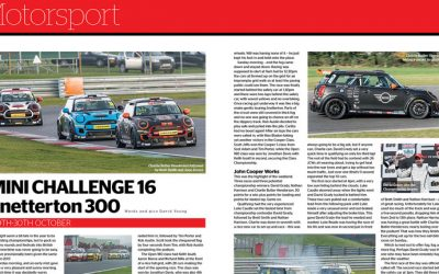 MINI CHALLENGE FEATURED IN MODERN MINI MAGAZINE