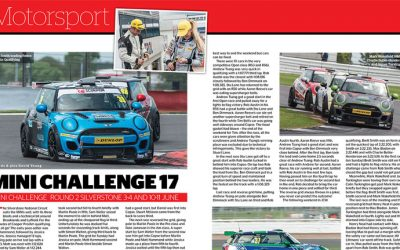 MODERN MINI REPORTS ON SILVERSTONE ROUNDS