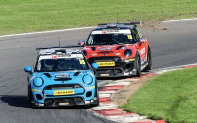 JCW RACE 2 REPORT BRANDS HATCH GP