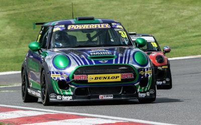 JCW RACE 1 REPORT BRANDS HATCH GP