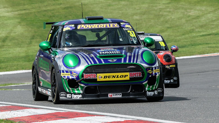 JCW RACE 1 REPORT BRANDS HATCH GP