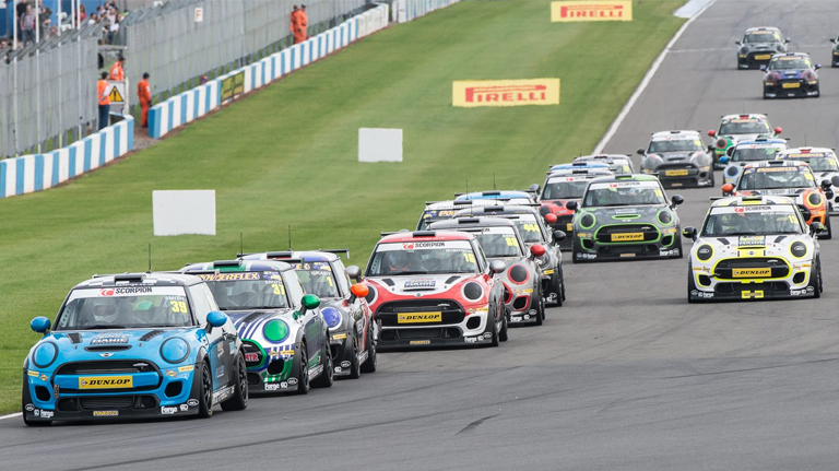 JCW RACE 1 REPORT FROM DONINGTON