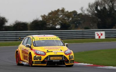 DUNLOP PROVIDE MINI CHALLENGE WINNERS BTCC TEST