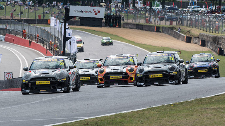 MINI CHALLENGE TO SUPPORT DTM RETURN TO BRANDS HATCH