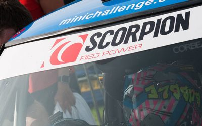 SCORPION EXTEND THEIR PARTNERSHIP WITH MINI CHALLENGE FOR 2018