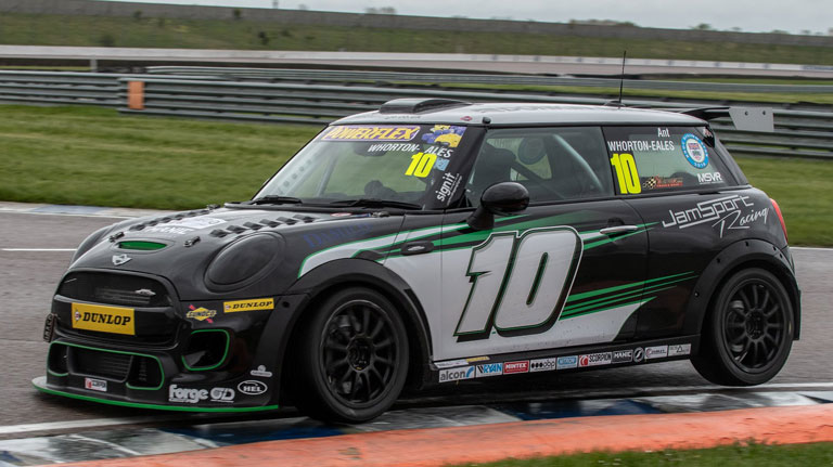 ANT WHORTON-EALES SECURED HIS FIRST JCW POLE