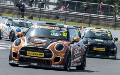 SILVERSTONE JCW RACE TWO REPORT