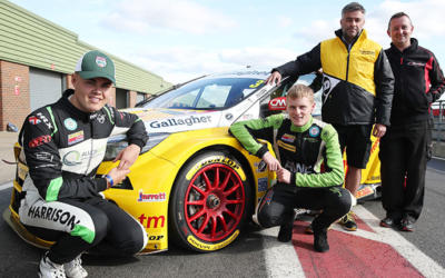 JCW CHAMPIONSHIP STARS TAKE PART IN PRIZE BTCC TEST DAY