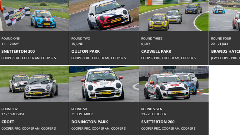 Mini Challenge Working To Be The Best One Make Racing Championship
