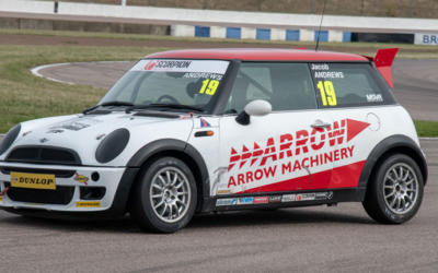 JACOB ANDREWS STEPS UP TO JCW CHAMPIONSHIP FOR 2019 WITH EXCELR8 MOTORSPORT