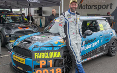 REIGNING COOPER S CHAMPION WILL FAIRCLOUGH STEPS UP TO JCWs WITH MINI UK VIP