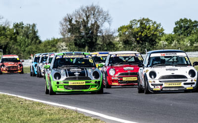 COOPER SNETTERTON WEEKEND RACE REPORTS