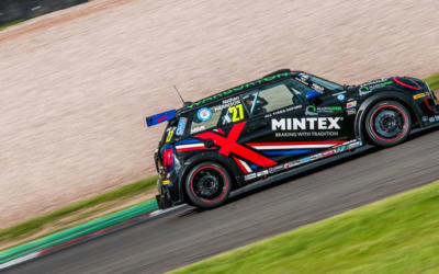 HARRISON BATTLES TO DONINGTON PARK JCW POLE