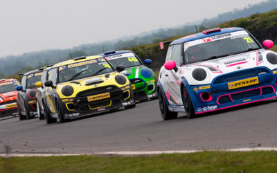 DAVIDSON KEEN TO IMPRESS AS JCWS HEAD TO SILVERSTONE