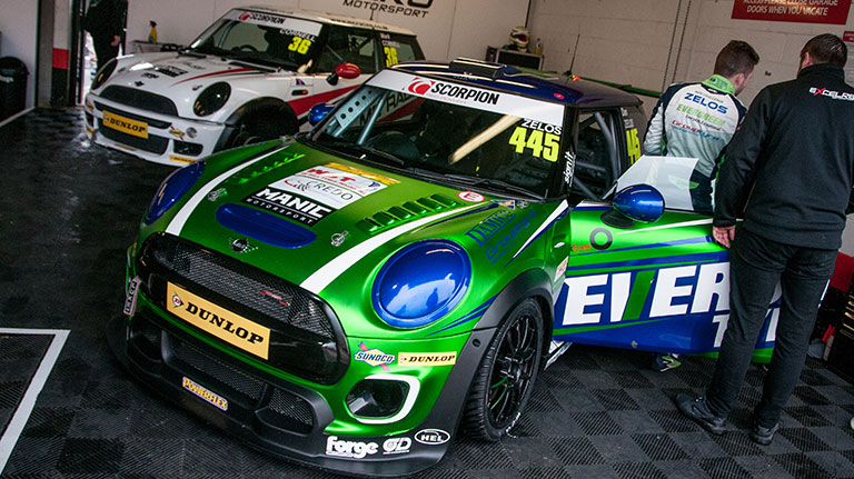 ZELOS TAKES TOP SPOT AT BRANDS HATCH MINI FESTIVAL