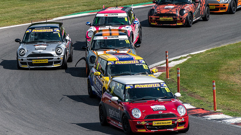 THE COOPER CLASSES HEAD TO CROFT CIRCUIT FOR THEIR FORTH ROUND OF THE SEASON