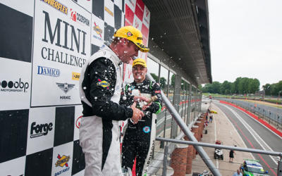 GORNALL LUCKS INTO WIN NUMBER FOUR AT BRANDS HATCH