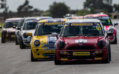 COOPER CLASSES RACE REPORT FROM CROFT CIRCUIT