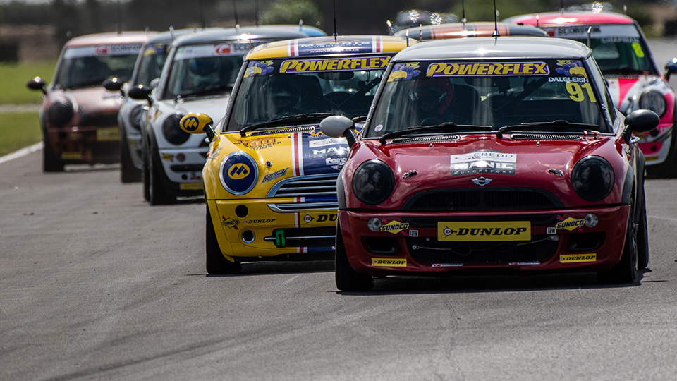 COOPER CLASSES HEAD TO DONINGTON PARK AS THE SEASON END APPROACHES.