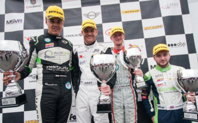 GORNALL MAKES IT FIVE WITH FIRST DONINGTON JCW VICTORY