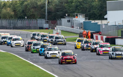 RACE REPORTS FROM THE COOPER CLASSES AT DONINGTON PARK