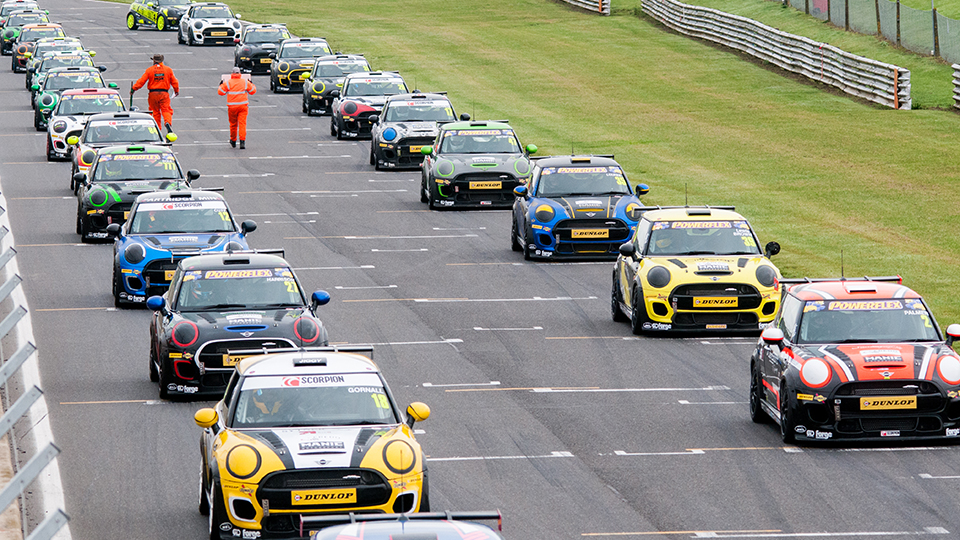 MINI CHALLENGE JCW NEARING SELL-OUT 2020 FIELD