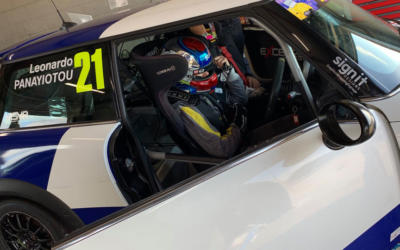 JUNIOR RACING STAR PANAYIOTOU JOINS 2020 COOPER GRID