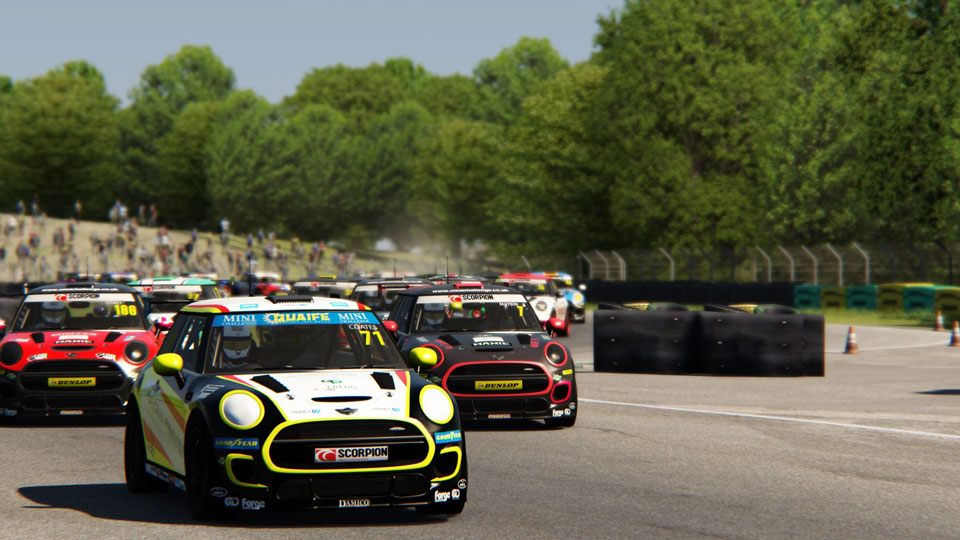 MINI CHALLENGE LAUNCHES OFFICIAL ESERIES WITH VRRC