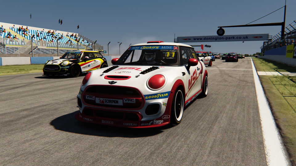 FULL GRID FOR INAUGURAL MINI CHALLENGE UK OFFICIAL ESERIES