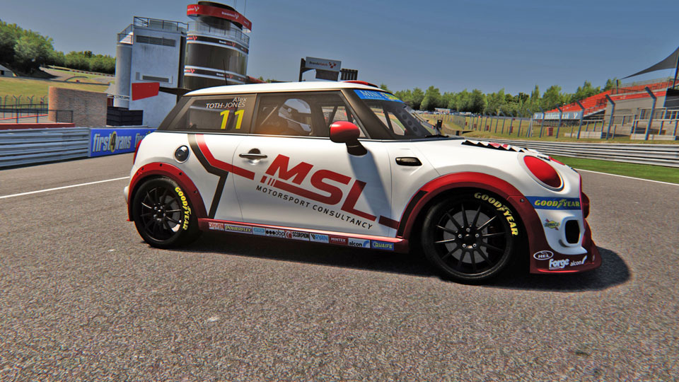 MINI CHALLENGE UK OFFICIAL ESERIES ANNOUNCE £20,000 IN PRIZES AND MSL MOTORSPORT CONSULTANCY PARTNERSHIP