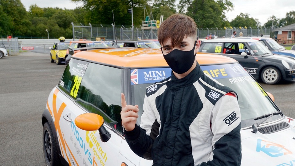 PANAYIOTOU LEADS ROOKIE 1-2-3 IN LAST GASP COOPER QUALIFYING