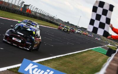 ANT MAKES BIG IMPACT IN FIRST JCW RACE AT DONINGTON