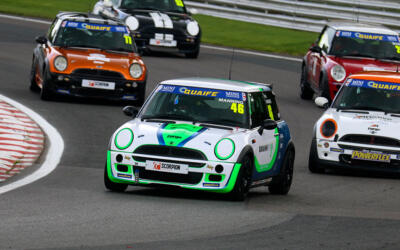 HIGH SPEED TRIPLE HEADER WELCOME CLASSIC COOPERS