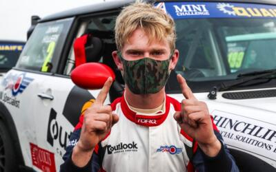 DOUBLE DANKAN MINI VICTORY AS O'BRIEN TAKES COOPER POINTS LEAD
