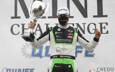 HAPPY HARRISON COMPLETES PERFECT OPENING RACE AT SNETTERTON
