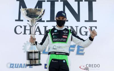 HARRISON CROWNED CHAMPION AS BROWN ENDS SEASON ON HIGH
