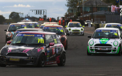 WINTER FINALE FOR COOPER AND COOPER S AT DONINGTON