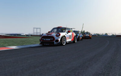 BRENNAN TAKES FIRST MINI ESERIES WIN AMIDST EPIC BATTLES AT SILVERSTONE