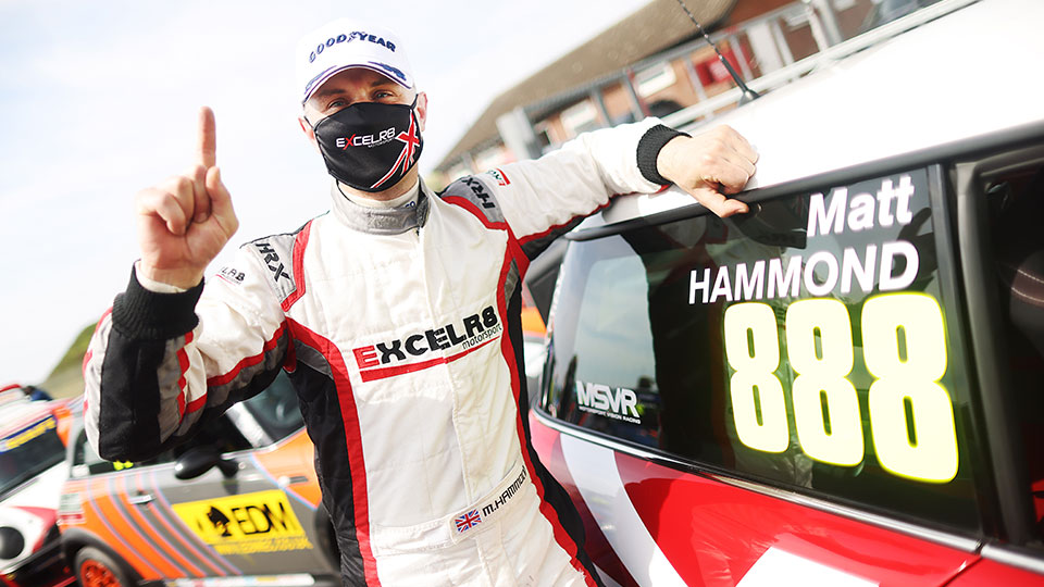 MATT HAMMOND 'EXCEEDS EXPECTATIONS' WITH EARLY LEAD