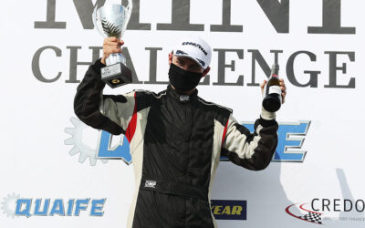 ALEX JAY HOPES TO HIT TOP GEAR IN SECOND COOPER CAMPAIGN