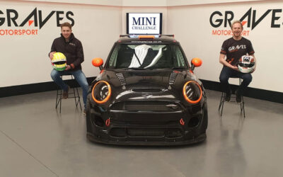 GRAVES MOTORSPORT GRADUATE TO JCW CLASS WITH GRAVETT AND COATES