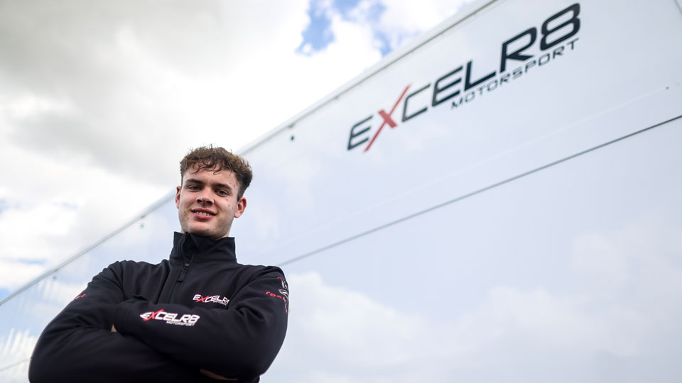 LEWIS GALER REJOINS EXCELR8 IN NEW BTCC ACADEMY DRIVER ROLE