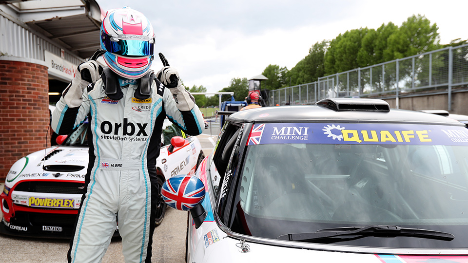 MAX BIRD PLEASED WITH RACE THREE RECOVERY