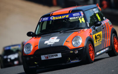 DOMINIC WHEATLEY ENDURES TRYING WEEKEND AT BRANDS HATCH