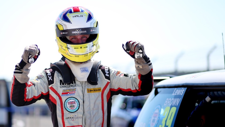 LEWIS BROWN DOUBLES UP AT SNETTERTON