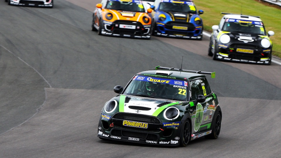 OLIVER BARKER TAKES MAIDEN WIN IN DRAMATIC SECOND RACE