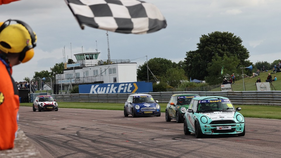 LOUIE CAPOZZOLI SECURES MAIDEN WIN IN DRAMATIC THRUXTON OPENER